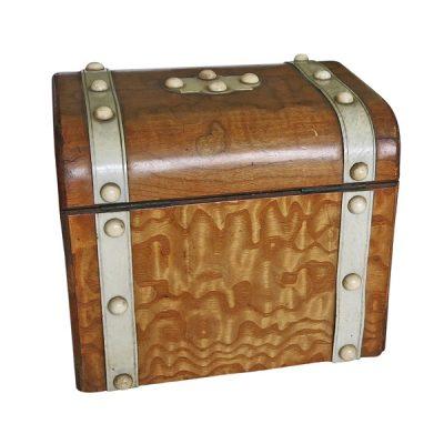 Nineteenth Century Burled Elm Box