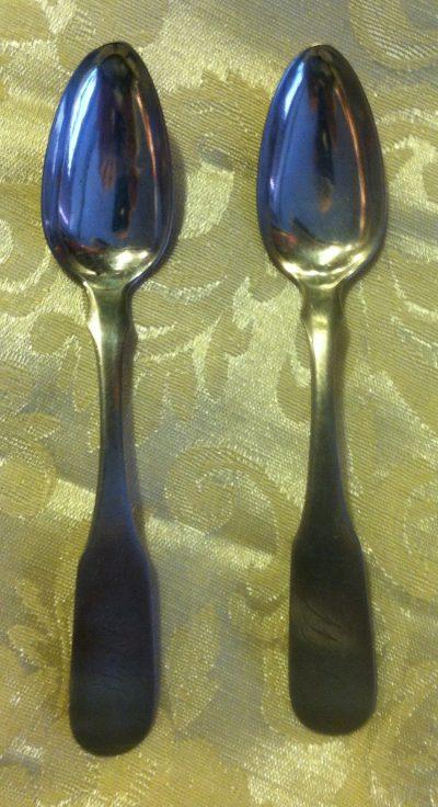 Peter Bentzon Coin Silver Teaspoon(s)