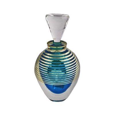 Large Correia Art Glass Perfume Bottle