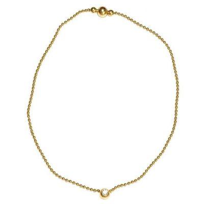 Cartier Paris Gold and Diamond Necklace