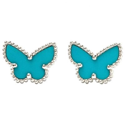 Van Cleef & Arpels Sweet Alhambra Butterfly Studs