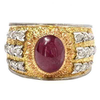 Mario Buccellati Ruby Ring