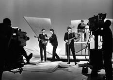 "Harry Benson ""Beatles Ed Sullivan Show with cameras"