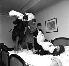 "Harry Benson ""Beatles Pillow Fight II"