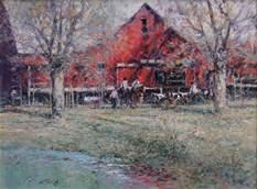 """John Terelak """"Red Barn"""""""