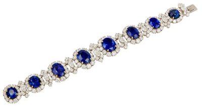 BULGARI Diamond & Saphire Bracelet