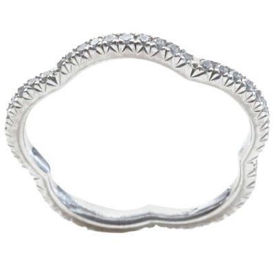 Chanel Gold Diamond Eternity Ring