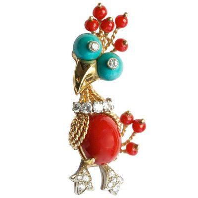 Tipsy Bird Brooch