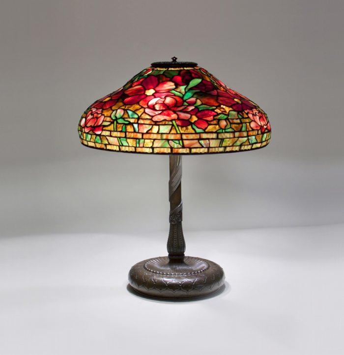 Tiffany Studios Peony Table Lamp