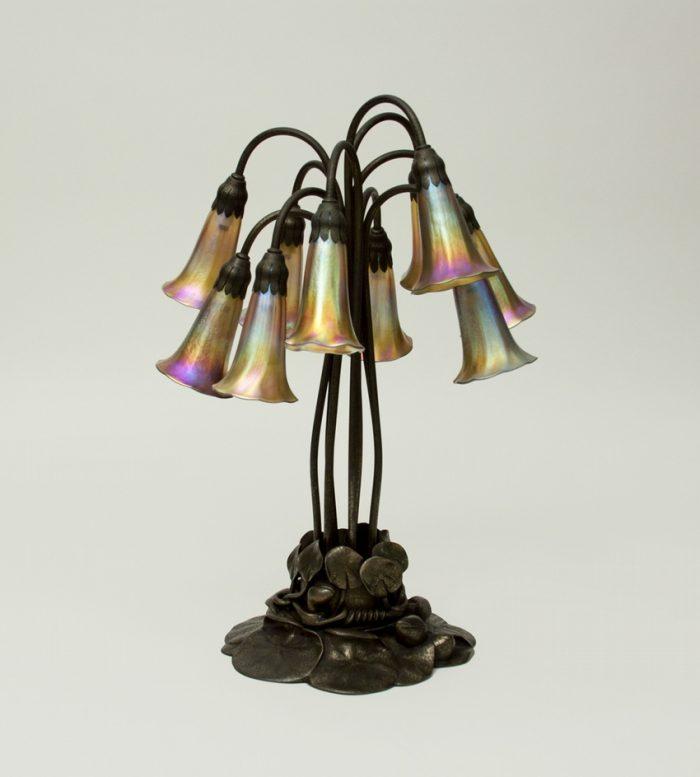 Tiffany Studios 10-Light Lily Table Lamp