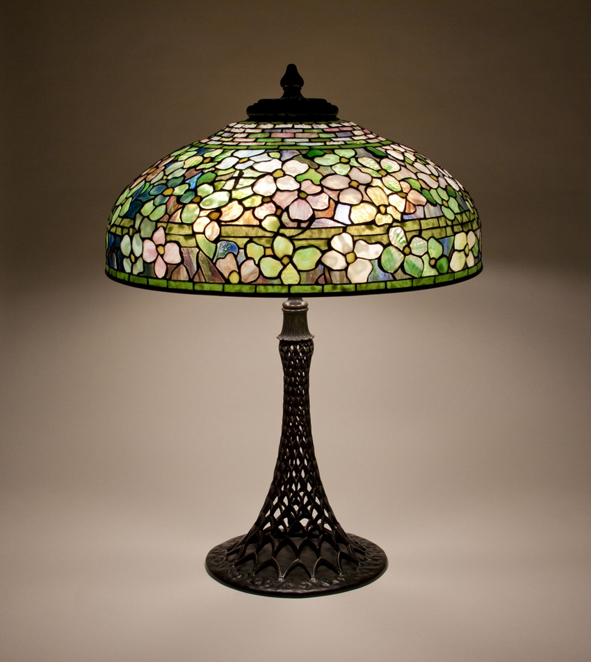 Tiffany Studios Dogwood Table Lamp