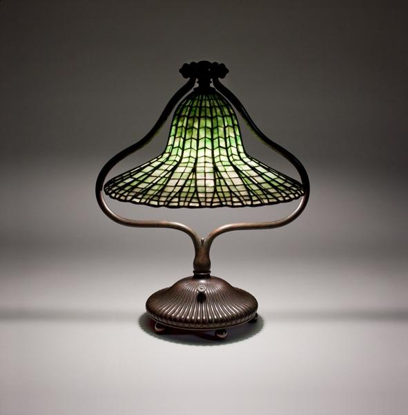Tiffany Studios Lotus Bell Table Lamp