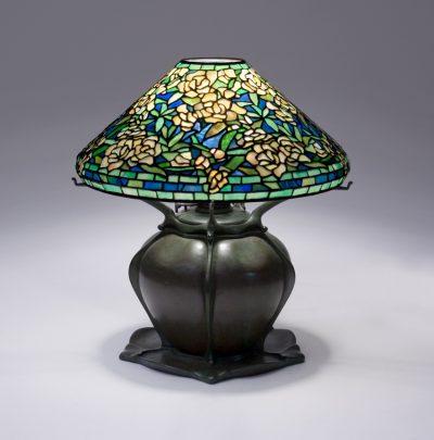 Tiffany Studios Wild Rose Table Lamp