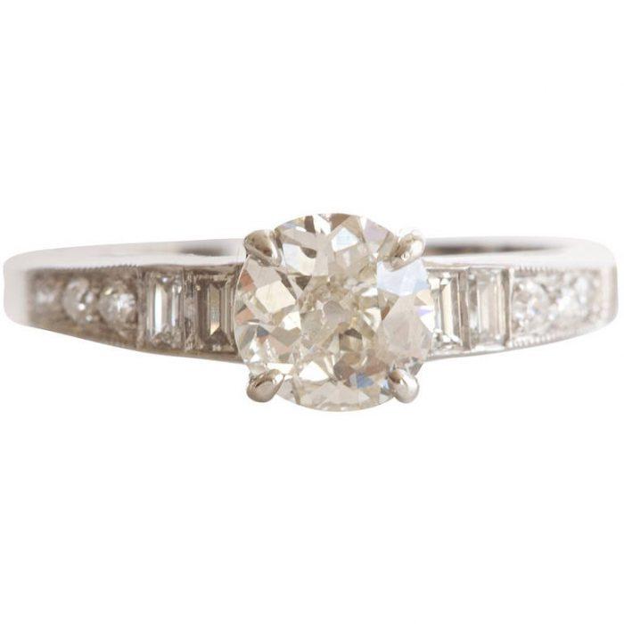 Sophia D. Diamond Platinum Engagement Ring