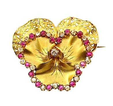 Napoleon III 18K Gold