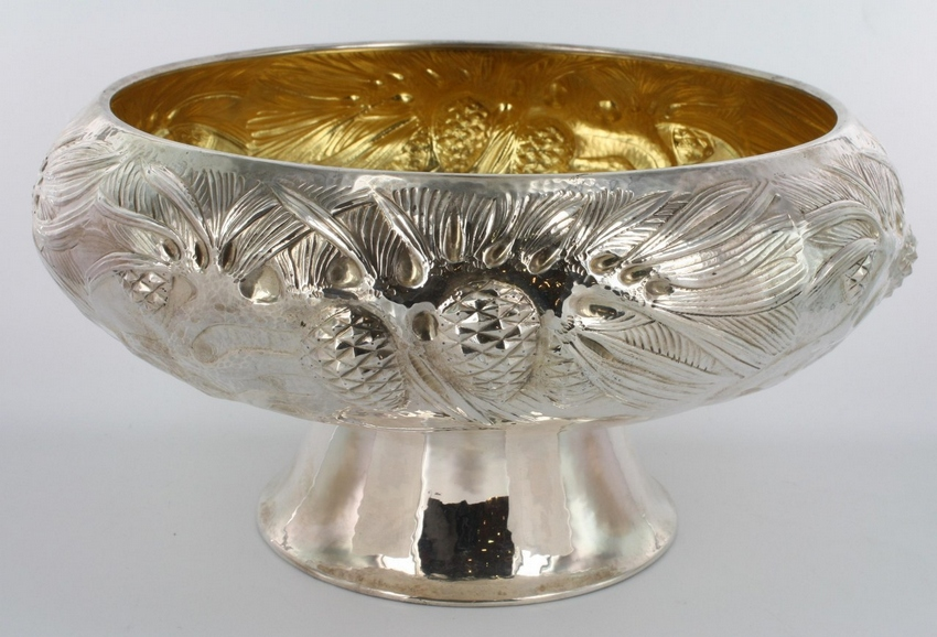Norwegian solid silver bowl