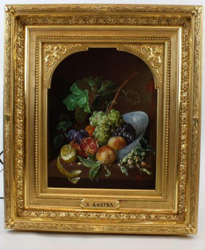 Painting by Stanislas Kostka