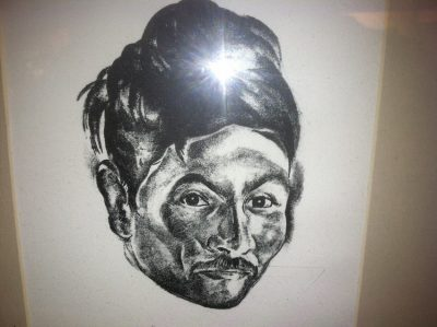 William SPRATLING Limited Edition Signed First Series Litho Man