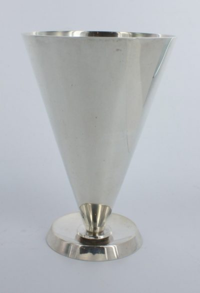 Sterling Silver Set of 6 Goblet Designed by Christoffersen for International Silver Company