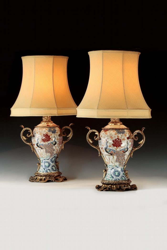 A pair of French 19th century Lamps