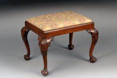 An English George II Style Footstool