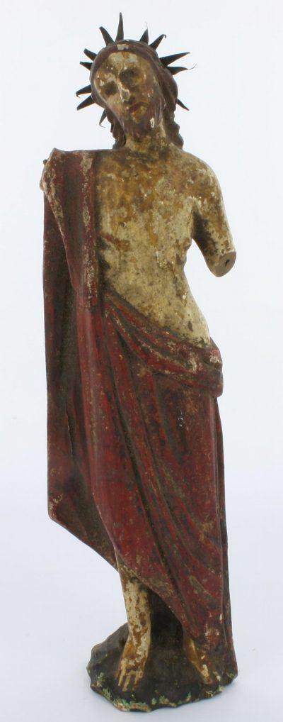 south american santos figure of Christ