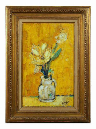 Bernard Lorjou (French 1908-1986) Nature Mort au Vase Jaune