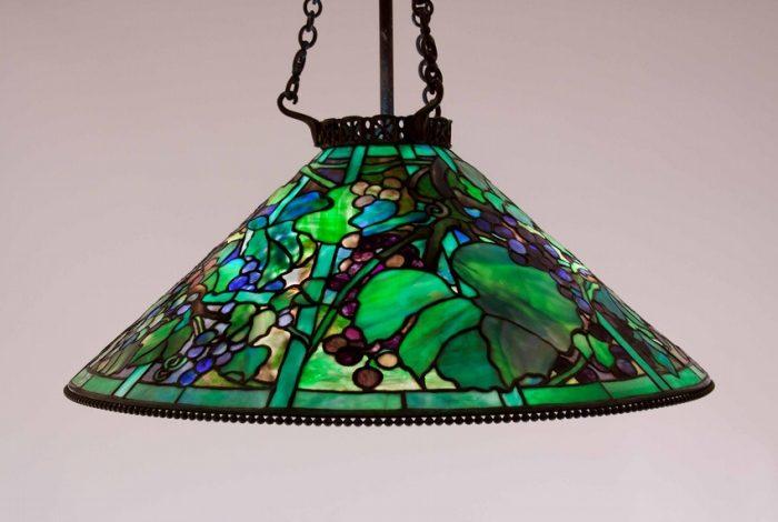 Tiffany Studios Grape Chandelier