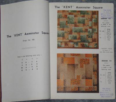 The Kent Square. A high class Seamless Axminster Carpet