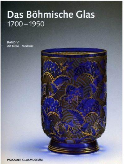 Das Bohmische Glas 1700 - 1950. Band IV - Jugendstil in Bohmen. Band V - Jugendstil in Bayern und Schlesien. Band VI - Art Deco