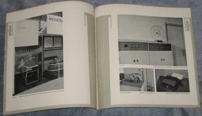Wendingen. Maanblad voor bouwenen sieren. Dit is nummer 2 van de 9de serie (1928) en gewijd aan Techniek en Kunst.