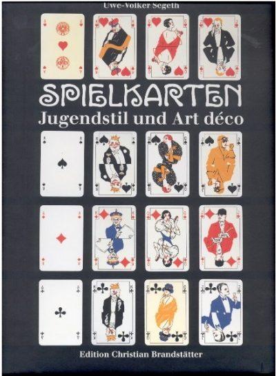 Spielkarten. Jugendstil und Art Deco.