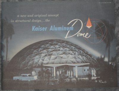A new and original concept in structural design... the Kaiser Aluminium Dome.