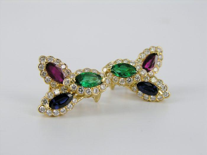 18KT Yellow Gold Oscar Heyman Earrings