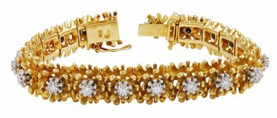 GUBELIN Diamond and Gold Bracelet