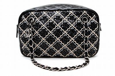 Chanel B/W Camera Bag