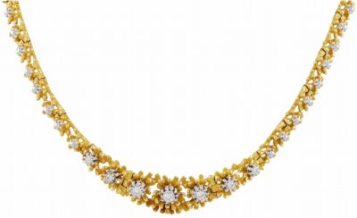 GUBELIN Diamond and Gold Necklace