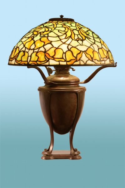 "Tiffany Studios ""Bell Flower"" Lamp"