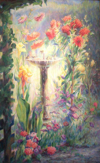 """Emma Richardson Cherry """"Garden in Altadena"""""""