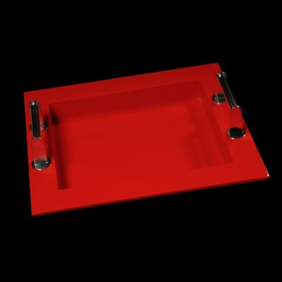 Red Lacquer Tray