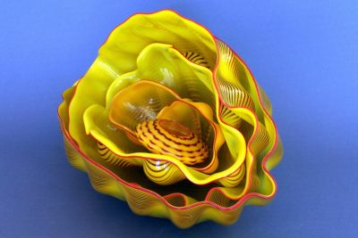6 Element Glass Sculpture