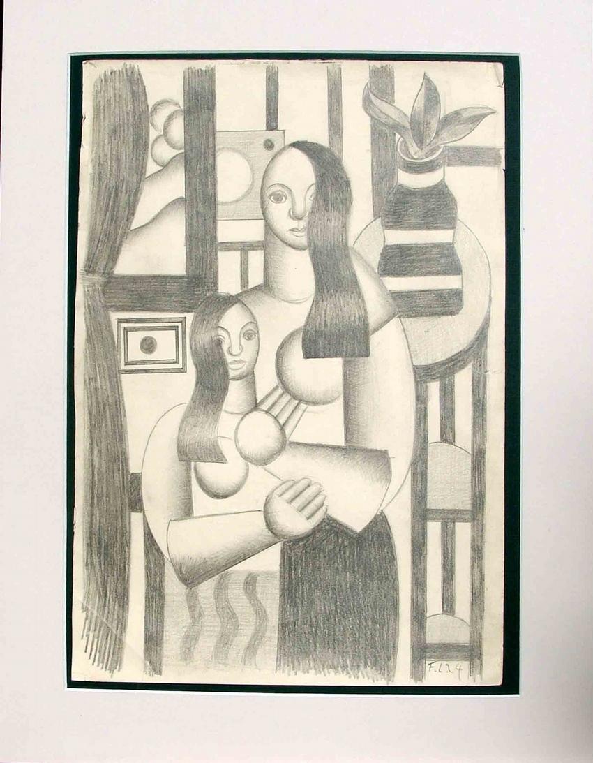 Deux Femmes: Fernand Leger
