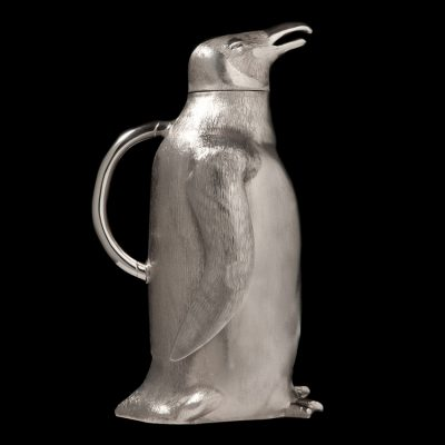 The Silver Penguin Pitcher