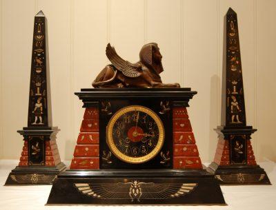 Egyptian Revival Clock