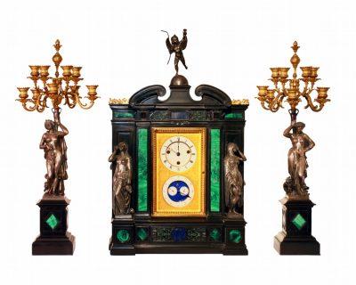 A Napoleon III Clock