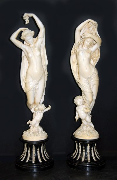 """Ivory Figures: """"Day & Night"""""""