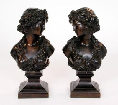 Bronze Busts of Maidens
