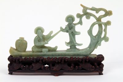 Chinese Jadeite Carved Group