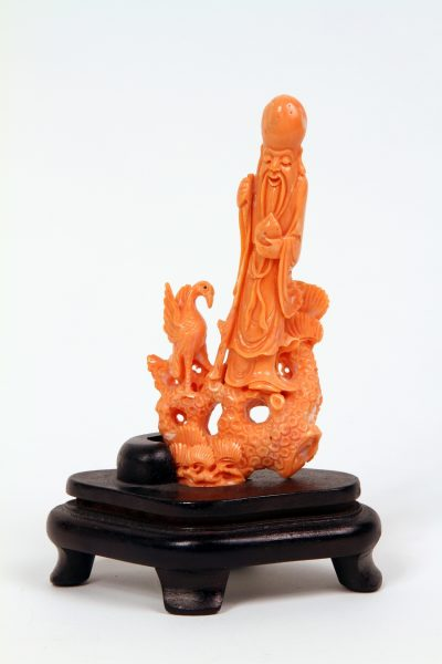 Coral Figure of a Beauty