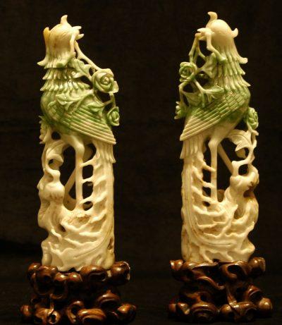 Chinese Jadeite Birds